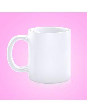 Cup White Ceramic Sublimation 11 Oz