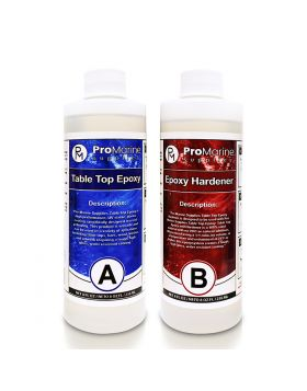 Epoxy Table Top And Hardener 16 oz