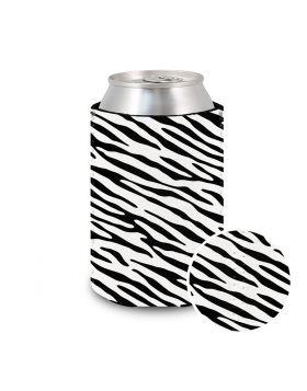 Koozie Neoprene Zebra
