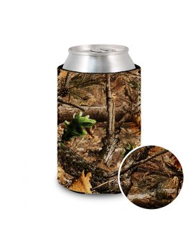 Koozie Neoprene Camo Tree Leaves