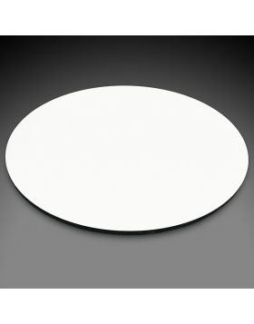 Mouse Pad Rounded White