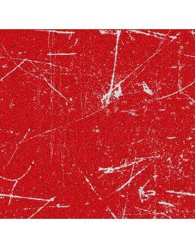 Scratches Red Glitter Vinyl