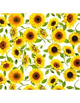 Sunflowers White Vinyl