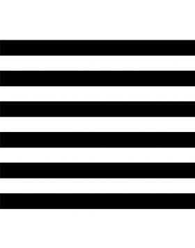 Stripes Straight Black Sign Vinyl