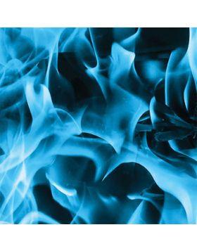 Blue Fire Sign Vinyl