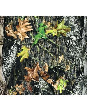 Camo Tree Leaves Sign Vinyl