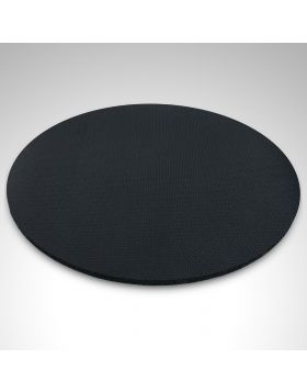 Mouse Pad Rounded Black