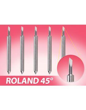 Vinylsaurus Roland 45° Angle Blades [5pcs]