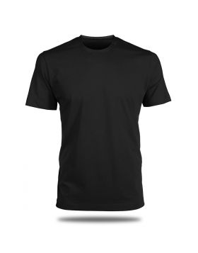 Round Neck T-Shirt-Black