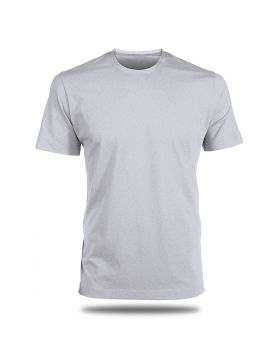 Round Neck T-Shirt-Grey