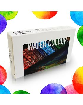 Water Color Case with 12 Colors