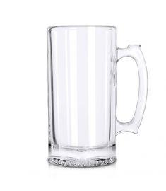 Beer Glass Transparent Sublimation 16 Oz