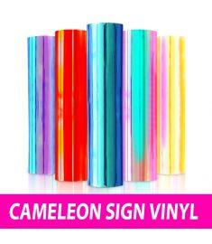 Cameleon Sign Vinyl