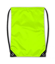 Drawstring Bag Neon Green