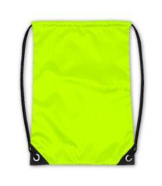 Drawstring Bag Neon Yellow