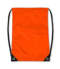 Drawstring Bag Neon Orange