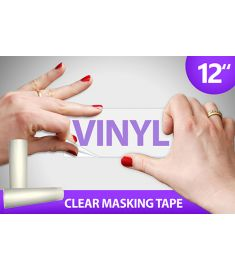 Clear Masking Tape 12 Inch