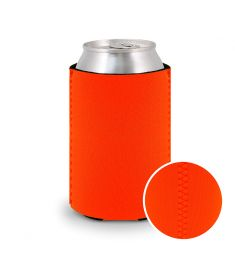 Koozie Neoprene Neon Orange