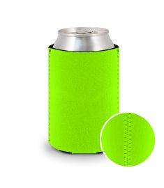 koozie-neoprene-neon-green