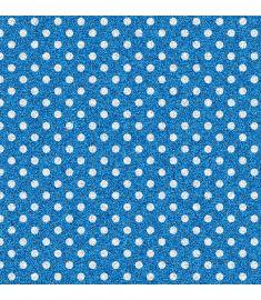 Polka-Dot Blue Glitter Vinyl