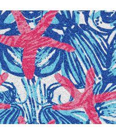 Starfish Sea Shell Glitter Vinyl