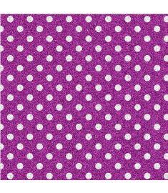 Polka-Dot Purple Glitter Vinyl