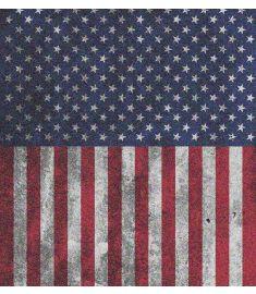 American Flag Dirty Glitter Vinyl