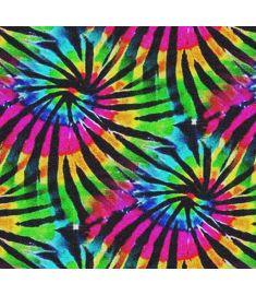 Tie Dye One Glitter Vinyl