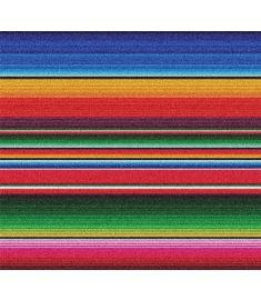 Serape Mexico Glitter Vinyl