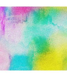 Watercolor Multicolor Glitter Vinyl