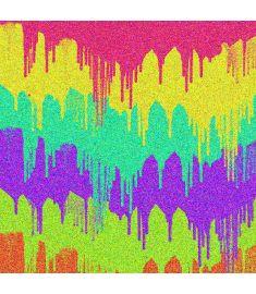 Paint Bruch Colors Glitter Vinyl