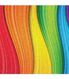 Rainbow Colorfull Glitter Vinyl