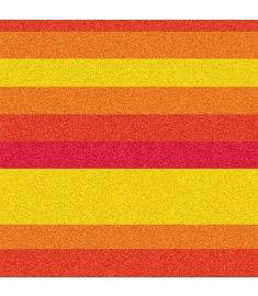 Straight Lines Yellorang Red Glitter Vinyl