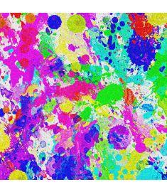 Paint Splash Colors Glitter Vinyl