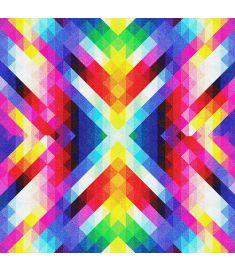 Diamonds Multi-colors Glitter Vinyl
