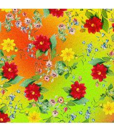 Spring Flowers Glitter Vinyl