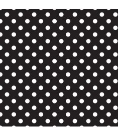 Polka-Dot Black Vinyl