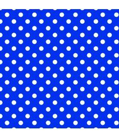 Polka-Dot Blue Vinyl