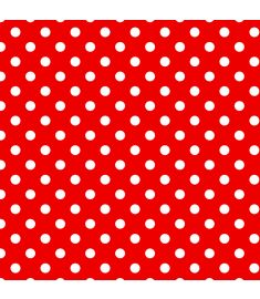 Polka-Dot Red Vinyl