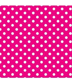 Polka-Dot Pink Vinyl