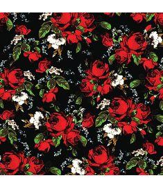 Roses Flowers Dark Vinyl