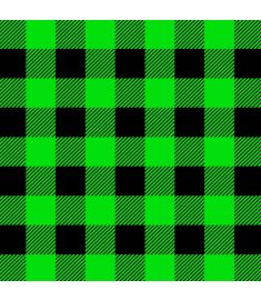 Christmas Plaid Green And Black Vinyl