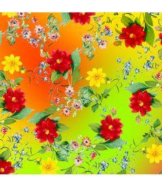 Spring Flowers Sign Vinyl