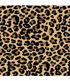 Leopard Brush Vinyl