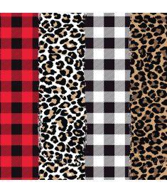 Plaids and Leopard Mix II Vinyl