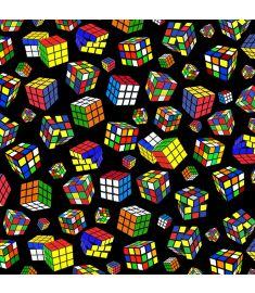 Rubik Cube Black Vinyl