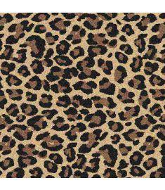 Leopard Brush Glitter Vinyl