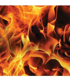 Red Fire Sign Vinyl