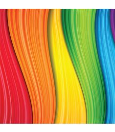 Rainbow Colorfull Sign Vinyl