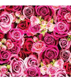 Roses Mix Sign Vinyl